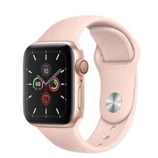 アップルウォッチ(Apple Watch)のApple Watch series5 (GPS +Cellular)40mm(腕時計(デジタル))