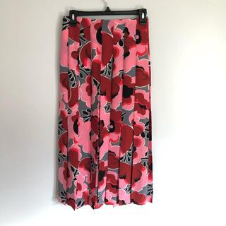 グッチ(Gucci)の【新品未使用】GUCCI プリーツスカート 38(ロングスカート)