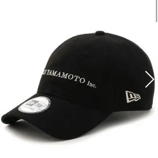 Yohji Yamamoto - YOHJI YAMAMOTO×NEWERA 9THIRTY キャップ
