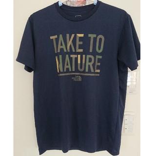 THE NORTH FACE - ノースフェイス メッセージ Tシャツ L