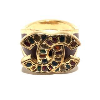 シャネル(CHANEL)のシャネル リング ココマーク 金属素材(リング(指輪))