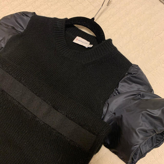 モンクレール(MONCLER)のモンクレール ウール ワンピース 正規品(ひざ丈ワンピース)