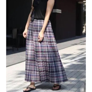 FRAMeWORK - チェック プリーツスカート◆ フレームワーク サイズ38  連休SALE
