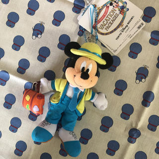 ミッキーマウス(ミッキーマウス)のミッキーマウス ぬいぐるみ ストラップ(キャラクターグッズ)