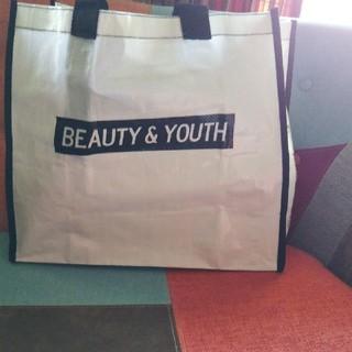 ビューティアンドユースユナイテッドアローズ(BEAUTY&YOUTH UNITED ARROWS)のビューティー&ユース ナイロン製 トートバッグ(エコバッグ)