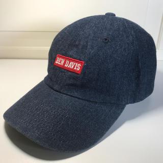 BEN DAVIS - 新品未使用 BENDAVIS / ベンデイビス ロー CAP ブラック 送料無料