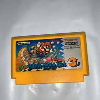 ファミリーコンピュータ(ファミリーコンピュータ)の訳あり ファミコンソフト スーパーマリオブラザーズ3(家庭用ゲームソフト)