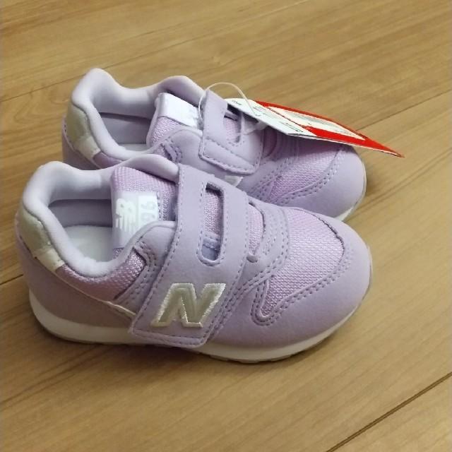 New Balance(ニューバランス)の箱なし ニューバランススニーカー IZ996 ライラック 14.0cm キッズ/ベビー/マタニティのベビー靴/シューズ(~14cm)(スニーカー)の商品写真