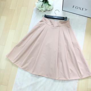 FOXEY - 【美品】FOXEY フォクシー 洗える スタイルアップ フレア スカート