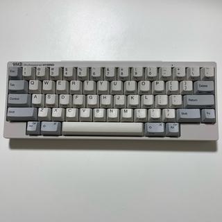 フジツウ(富士通)のPFU HHKB Professional HYBRID 英語配列(PC周辺機器)