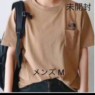 THE NORTH FACE - 【未開封新品】ノースフェイス ポケットTシャツ ワンポイント刺繍 ベージュ色