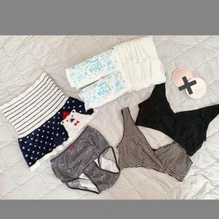 西松屋 - 授乳ブラ・産褥ショーツ・ムーニー母乳パット・もこもこパンツ★セット(バラ売り可)