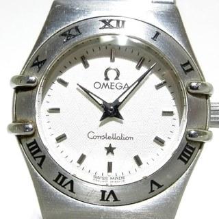 オメガ(OMEGA)のオメガ 腕時計 コンステレーションミニ 白(腕時計)