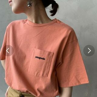 patagonia - 可愛いカラーのpatagoniaTシャツポケットつき