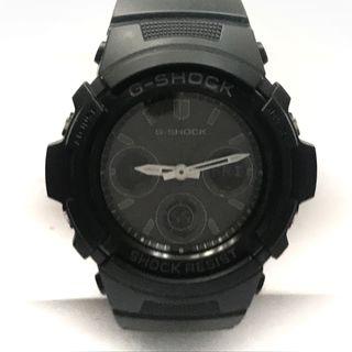 CASIO - カシオ 腕時計美品  G-SHOCK AWG-M100B 黒