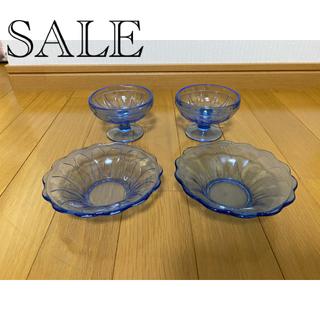 昭和レトロ ガラスセット(食器)