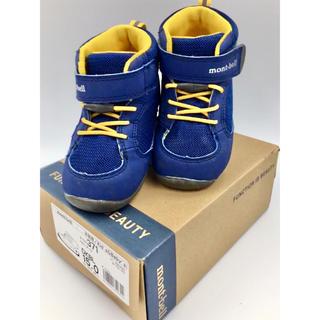 モンベル(mont bell)の箱無・送料込定形外・モンベル☆mont-bell☆シューズ☆ベビー☆靴☆15cm(アウトドアシューズ)