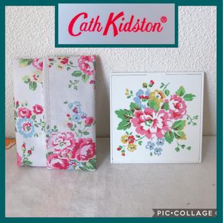 キャスキッドソン(Cath Kidston)のキャスキッドソン  Cath Kidston ミラーとティッシュケース(ミラー)
