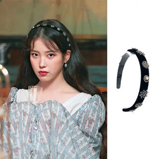 dholic - 当日発送可能❤韓国ファッションIU着用風ビジュー付カチューシャ