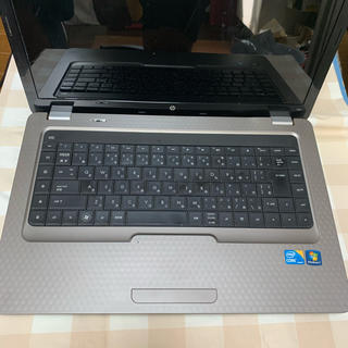 ヒューレットパッカード(HP)のhp NotebookG62 (ノートPC)