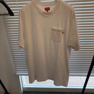 Supreme - supreme pocket tee white ポケットティー XL