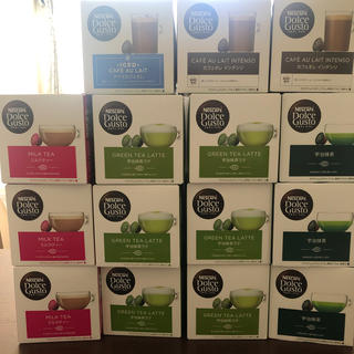 Nestle - ネスカフェ ドルチェ グスト15箱セット