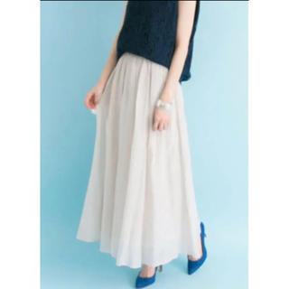 URBAN RESEARCH - シルク混ロングスカート