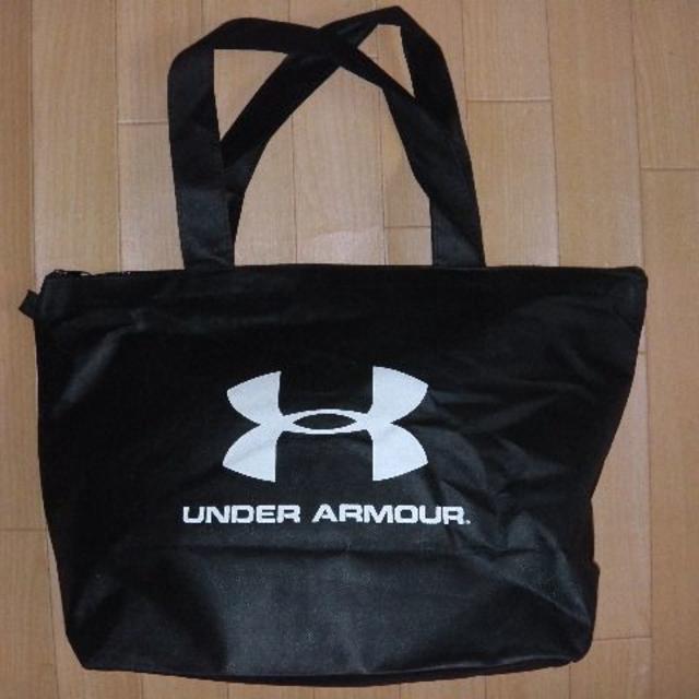UNDER ARMOUR(アンダーアーマー)のアンダーアーマー トートバック ランドリーバック 黒 メンズのバッグ(トートバッグ)の商品写真