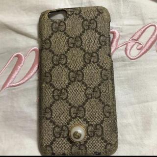 グッチ(Gucci)のgucci iPhone6s(iPhoneケース)
