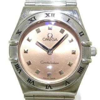オメガ(OMEGA)のオメガ 腕時計 レディース SS ベージュ(腕時計)
