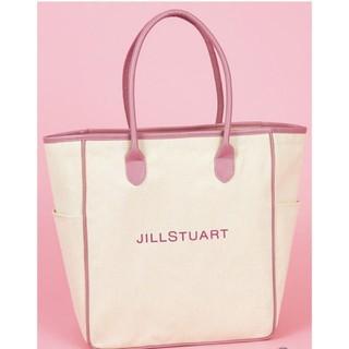 JILLSTUART - JILLSTUART ジルスチュアート ロゴ BIG トートバッグ エコバッグ
