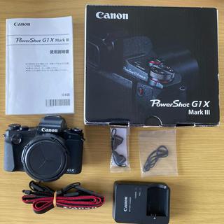キヤノン(Canon)のCanon PowerShot G1 X gMARK 3 III(コンパクトデジタルカメラ)