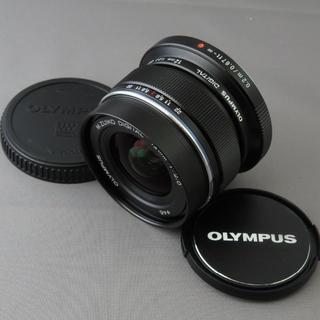 オリンパス(OLYMPUS)のふじまる様専用オリンパス M.ZUIKO DIGITAL12mm F2BLACK(レンズ(単焦点))