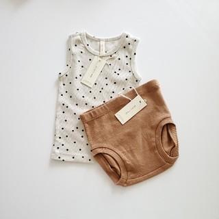 Caramel baby&child  - quincy mae クインシーメイ パンツタンク