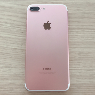 iPhone - 【SIMフリー】iPhone7 Plus Rose Gold 32GB おまけ付