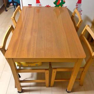 ニトリ(ニトリ)の【おふくろうさん専用】ダイニング テーブル セット(ダイニングテーブル)