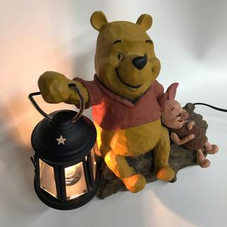ディズニー(Disney)のくまのプーさん ランプ アンティーク(その他)