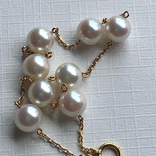 k18 あこや真珠 ブレスレット