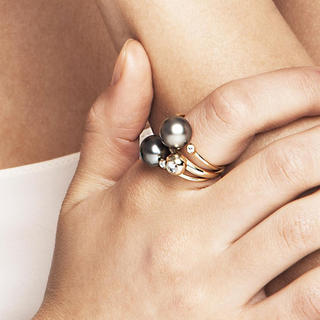 Ron Herman - MIZUKI バロックパール ダイヤモンドリング k14 ミズキ 指輪