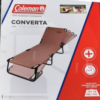 コールマン(Coleman)のColeman Converta Cot折りたたみ式リクライニングチェア(テーブル/チェア)