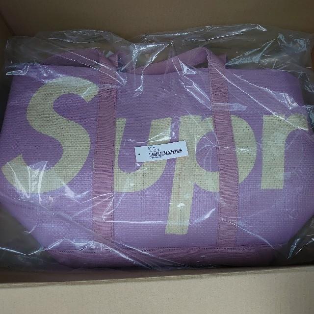 Supreme(シュプリーム)のsupreme raffia tote トートバッグ 新品未使用 メンズのバッグ(トートバッグ)の商品写真