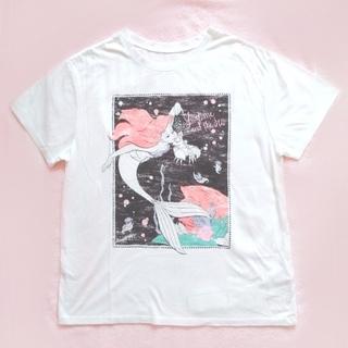 アバンリリー(Avan Lily)のリトルマーメイド アリエル ビンテージ Tシャツ ディズニー プリンセス(Tシャツ(半袖/袖なし))