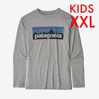 patagonia - 新品 パタゴニア キッズ ロングスリーブ p6ロゴ Tシャツ XXL