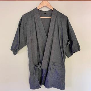 ムジルシリョウヒン(MUJI (無印良品))の無印良品 しじら織り 甚平(浴衣)