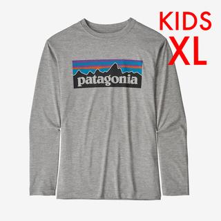 patagonia - 新品 パタゴニア キッズ ロングスリーブ キャプリーン Tシャツ XL