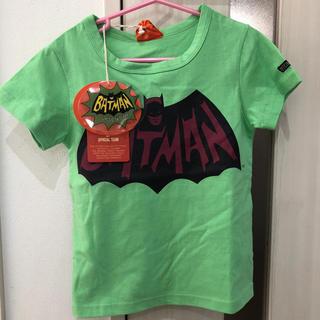 ニードルワークスーン(NEEDLE WORK SOON)のオフィシャルチーム バットマン Tシャツ 120(Tシャツ/カットソー)