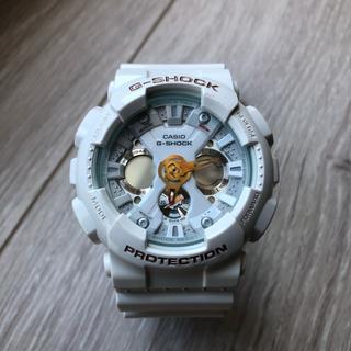 ジーショック(G-SHOCK)のデカG/G-SHOCK/ラバコレ/2012年/限定/ホワイト/ゴールド/デジアナ(腕時計(デジタル))