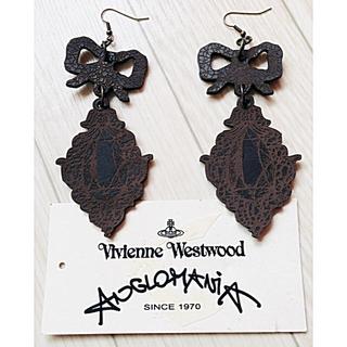 Vivienne Westwood - ヴィヴィアン レザーピアス BIGサイズ
