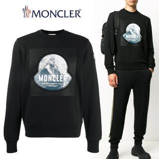 モンクレール(MONCLER)の23 MONCLER プルオーバー ロゴ トレーナー スウェットL(スウェット)