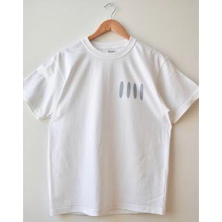 COMOLI - 綿天竺ロゴTシャツ F-01